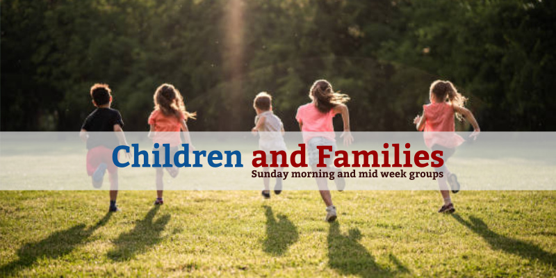 Children and Families*We love to welcome children to be part of our church family and run Sunday and midweek groups for various ages.*More details
