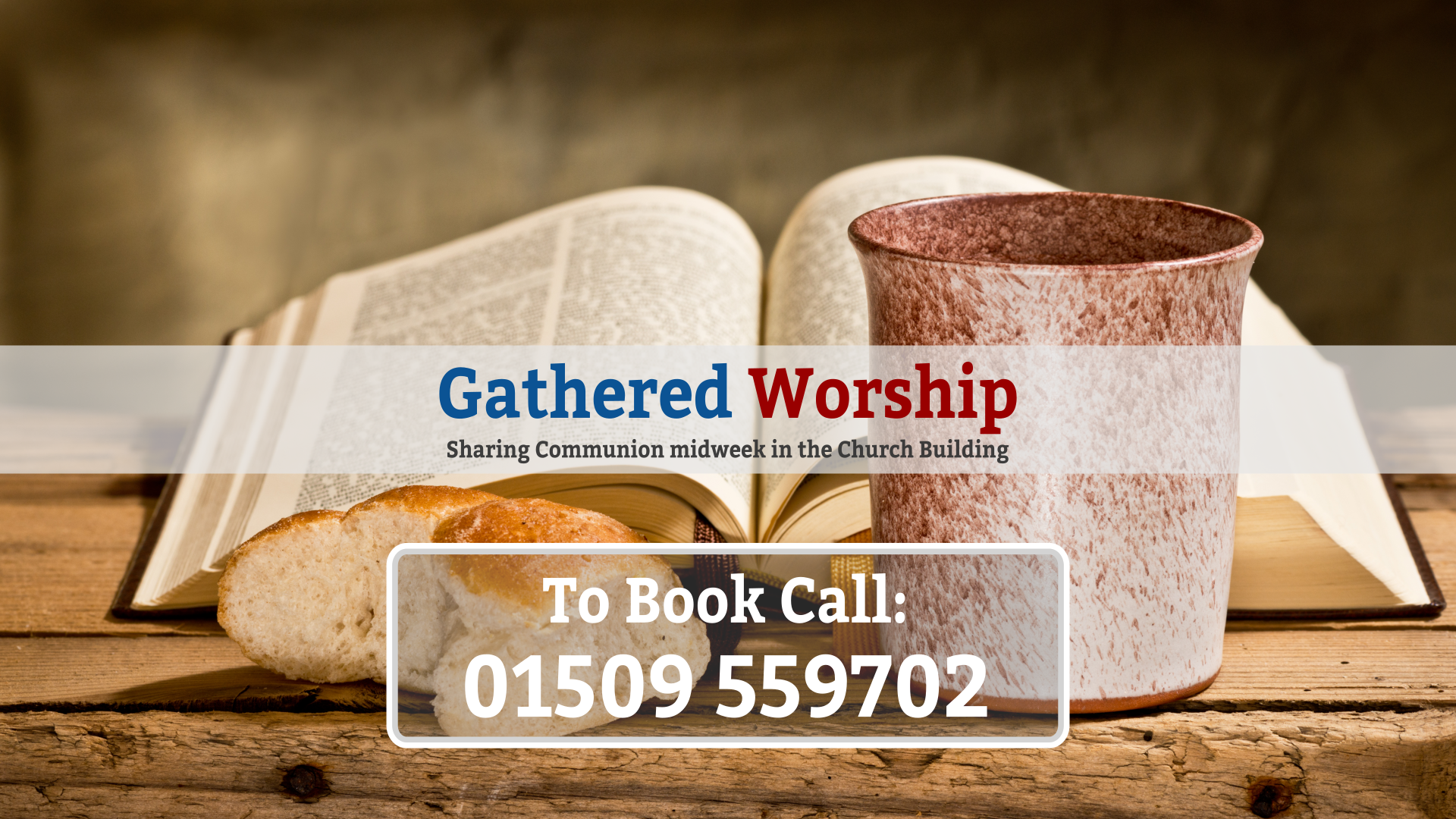 Digital Worship booking
